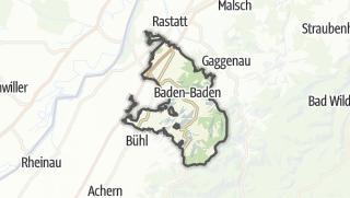 Karte / Baden-Baden