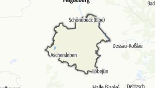 Karte / Salzlandkreis