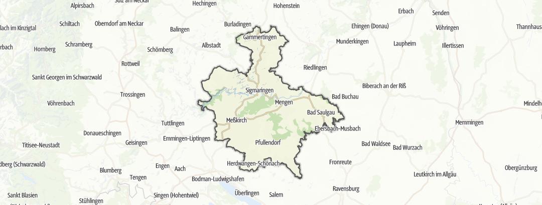 Karte / Sigmaringen