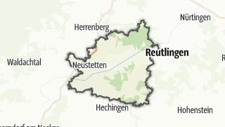 Karte / Tübingen