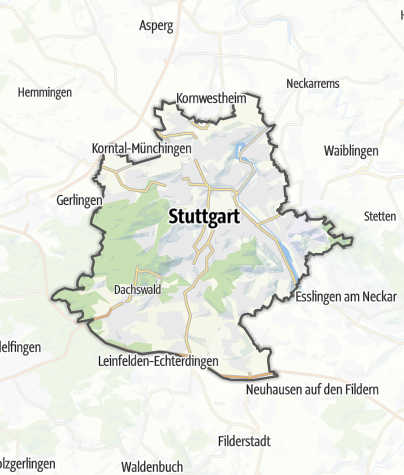 Map / Stuttgart