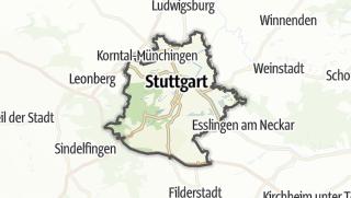 Karte / Stuttgart