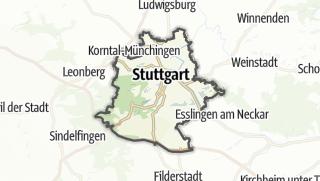 地图 / Stuttgart