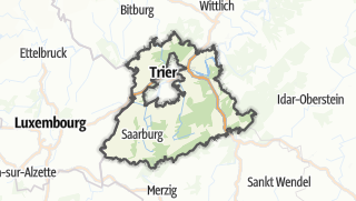 Map / Trier-Saarburg