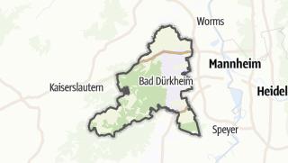 Karte / Bad Dürkheim