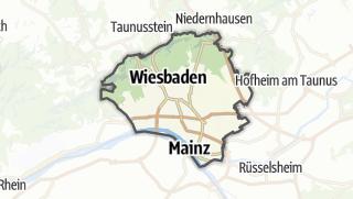 Karte / Wiesbaden