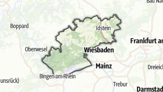 Cartina / Rheingau-Taunus-Kreis