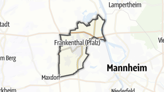 地图 / Frankenthal (Pfalz)