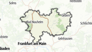 Karte / Wetteraukreis