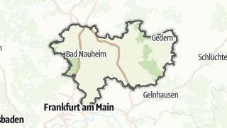Map / Wetteraukreis