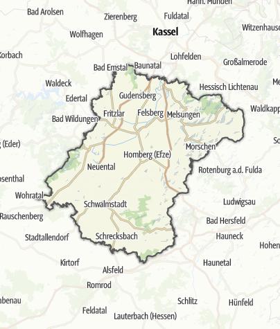 Map / Schwalm-Eder-Kreis