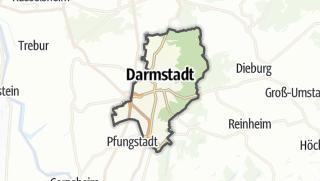 Karte / Darmstadt