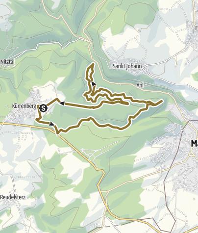 Mapa / Pferdewanderung am 24. Mai 2014