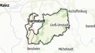 Karte / Darmstadt-Dieburg