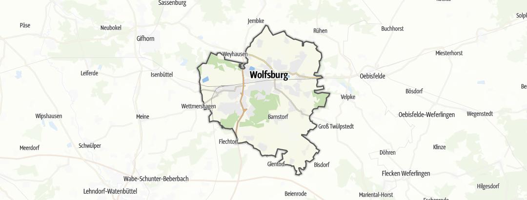 Carte / Randonnée - Wolfsburg