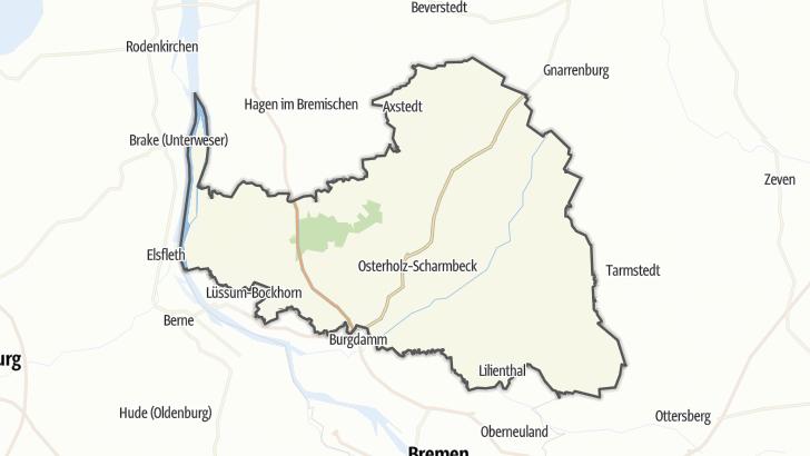 Mapa / Osterholz