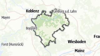 Cartina / Rhein-Lahn-Kreis