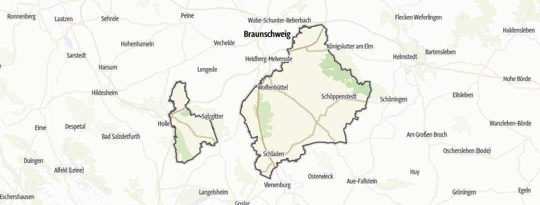 Kart / Bytur i Wolfenbuettel