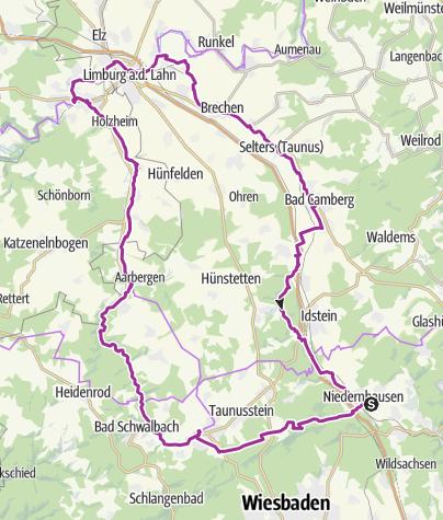 Karte / SBT_20140601 Fahrt zur Aar