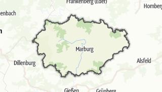 Karte / Marburg-Biedenkopf