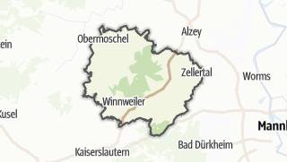 Karte / Donnersbergkreis