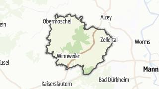 地图 / Donnersbergkreis