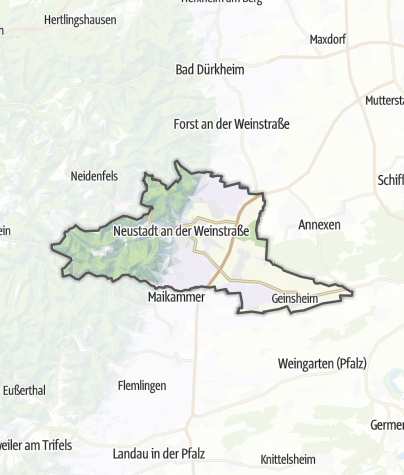 Karte / Neustadt an der Weinstraße