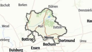 Karte / Recklinghausen