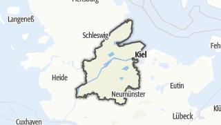 Map / Rendsburg-Eckernfoerde