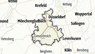 Karte / Rhein-Kreis Neuss