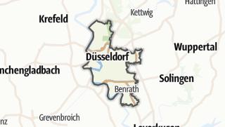 Karte / Düsseldorf