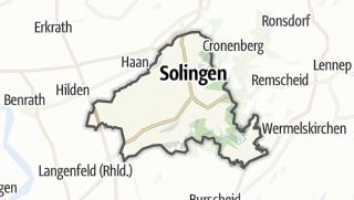 Karte / Solingen