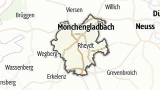 Karte / Mönchengladbach
