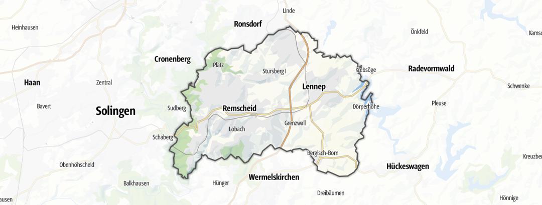 Karte / Remscheid