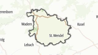 Karte / Sankt Wendel