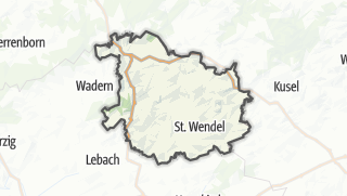 Map / Sankt Wendel