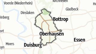 Karte / Oberhausen