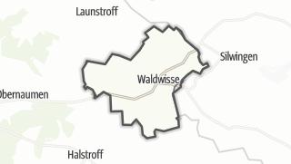 Mapa / Waldwisse