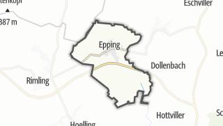 Mapa / Epping