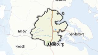 Karte / Aabenraa