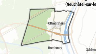 Cartina / Ottmarsheim