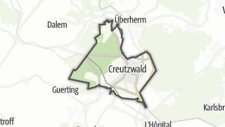 Mapa / Creutzwald