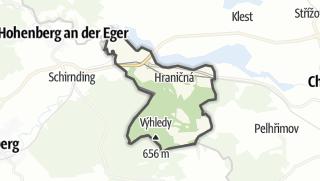 מפה / Pomezí nad Ohrí