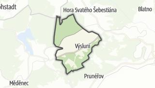 מפה / Výsluní