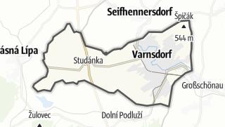 Karte / Varnsdorf