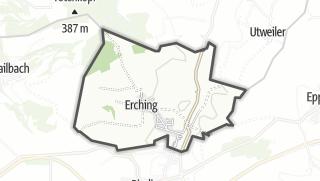 Mapa / Erching