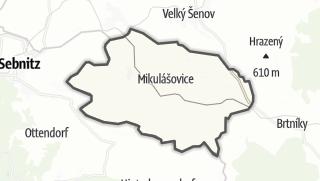 מפה / Mikulášovice