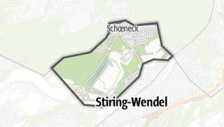 Mapa / Schoeneck