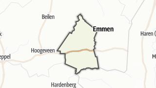 מפה / Coevorden