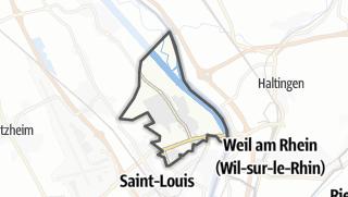 Mapa / Village-Neuf